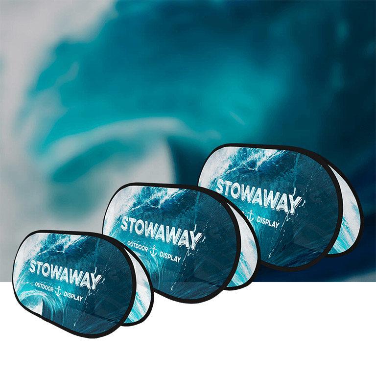 Stowaway outdoor pop-up