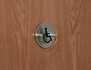 Classroom name door sign