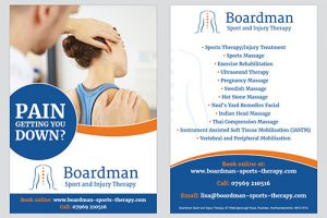 Boardman A5 double sided leaflets