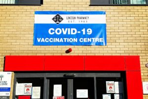 Pharmacy Covid-19 Vaccination site pvc banner signage
