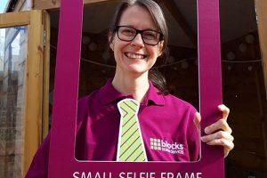 Small selfie frame